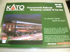 KATO 106-069 BROADWAY LIMITED 10 PACK - MAKE OFFERS!!!!