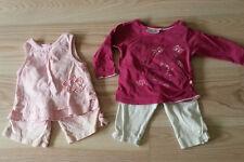Mädchen Kleiderpaket 4 Teile Gr. 74