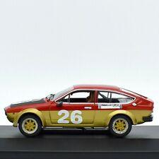 MODELLINO AUTO ALFA ROMEO GTV M4 SCALA 1:43 DIECAST MODELLISMO COLLEZIONE RALLY