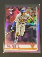 2019 Topps Chrome Pink Refractor Jeff McNeil Rookie RC Mets!