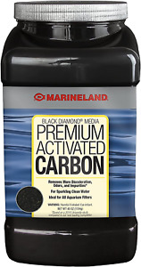 MarineLand Diamond Media Premium Activated Carbon, Blacks  Grays, 40-Ounce (PA0