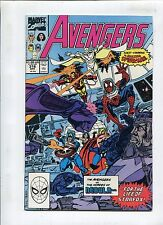 AVENGERS #316 - SPIDERS & STARS! WRITTEN BY JOHN BYRNE - (9.2) 1990