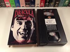 Taste The Blood Of Dracula Hammer Gothic Horror VHS 1970 Christopher Lee Vampire