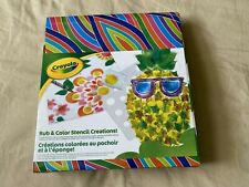 New Crayola Art Collection - Rubbing Art #31 Rub & Color Stencil Creations