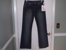 Retro Fox Ladies/Juniors Dark Denim Jeans Size 11/12 Slightly Distressed NWT