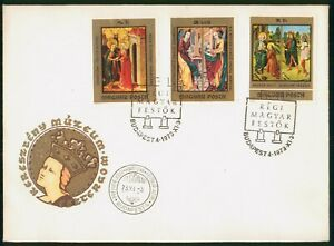 Mayfairstamps Hungary FDC 1973 Angels Saints Combo First Day Cover wwp_65485
