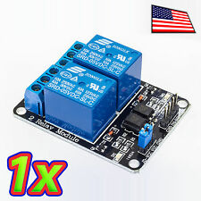 [1x] 2 Channel 250V 10A Relay Module Board and Shield AC DC Arduino Raspberry PI
