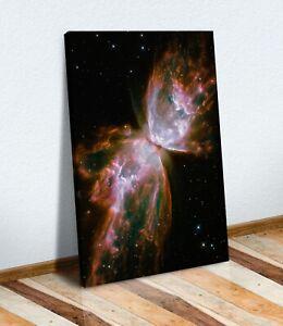 NASA OUTER SPACE Nebula NGC 6302 CANVAS WALL ART PRINT ARTWORK READY TO HANG