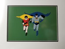 Batman Over Gotham 1970s Cartoon Original Animation Art Cel Original Background Collectibles Animation Art & Characters
