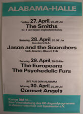 The Smiths German Concert Tour Poster 1984 The Smiths Debut Lp Very Rare Poster