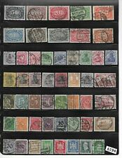 #6194    Early Germany Postage Stamps / 100+ all different used before 1930