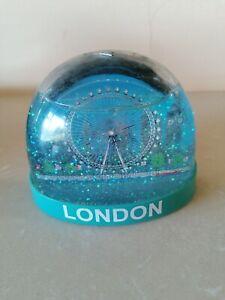 London Eye glitter snow globe London England landmarks LE GENUINE Collectors Edt