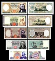 2x 1.000 - 100.000 Lire - Ausgabe 1962 - 1974 - Reproduktion - 06