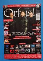 Orkus Nr.02 Februar 2019 mit CD  Neu ungelesen 1A absolut TOP