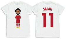 Mo Salah Liverpool Printed Kids Childs Vector Hero T-Shirt Ages 3-14 Unofficial