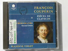 4860 Couperin Pieces de Clavecin Harpsichord II, Blandine Verlet *EX-LIBRARY* CD