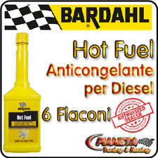 BARDAHL HOT FUEL - LOTTO 6 FLACONI - ANTICONGELANTE PER GASOLIO - 250ml
