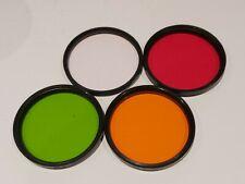 Set of 4 Filter >>> 58mm Hoya Skylight - heliopan s 58 8x -3 /  4x -2 / 2x -1