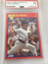 Greg Maddux 1989 Score Superstar #48 Psa 7 Chicago Cubs