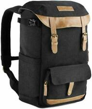 K&F Concept Large Camera Backpack Bag For Canon Nikon Waterproof w/ Rain Cover