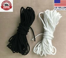 """3Mm 1/8"""" Soft Round Elastic Cord for Face mask"""