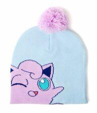 Cap Nintendo Pokemon Jigglypuff Pom Knitted Beanie Hat Bioworld