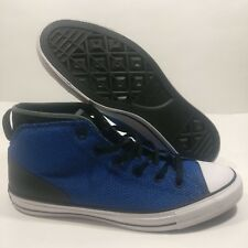 Mens Converse Syde Street All Star CTAS High Top Blue Sneaker Size 11 (155485C)