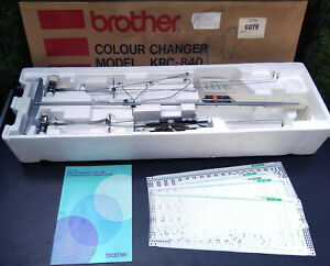 Brother 4-Farbwechsler Doppelbett KRC-840 für Strickmaschine KH820-KH970