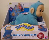 Teletubbies ~ Shuffle and Giggle Tiddly Tubby Mi-Mi ~ Soft Toy Crawling Action