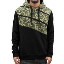 Langarm Herren-Kapuzenpullover & -Sweats mit Camouflage in normaler Größe
