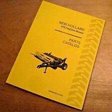 New Holland 479 Haybine Mower Conditioner Parts Catalog Book List Manual Nh