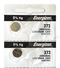ENERGIZER 373 SR916SW (2 piece) SR68 V373 D373 617 GP31 Battery AuthorizedSeller