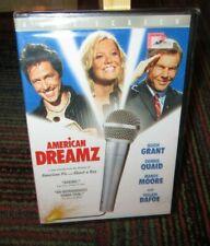 AMERICAN DREAMZ DVD MOVIE, MANDY MOORE, HUGH GRANT, WILLEM DAFOE, FS, NEW SEALED