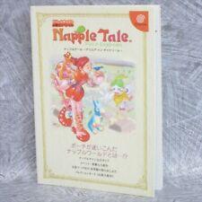NAPPLE TALE Arsia in Daydream Guide Sega Dreamcast Book 2000 KB3x