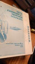 1973 Evinrude Yachtwin Lightwin 4 HP Model 4306 4336 Service Manual