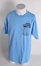 NWOT MENS SKATE MENTAL BUNDLE IN CHEST POCKET T-SHIRT L blue black graphics