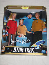 Barbie and Ken Star Trek Gift Set - 1996 MIMP Sealed