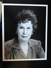 KIM HUNTER - LATE GREAT FILM ACTRESS - EXCELLENT SIGNED B/W PHOTOGRAPH