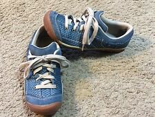 Women's KEEN Mercer Lace Blue Casual Lace Up Shoes Size 8