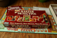 Clue Master Detective Board Game Incomplete 1988 Parker Brothers