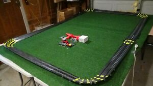 Artin Classic 1/43 scale Slot track  2 cars & Track as Shown all banked  5X8 A6
