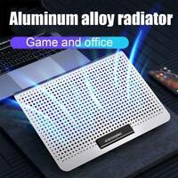 USB Laptop Cooler Fan Cooling Stand Adjustable Holder For Notebook 1pc