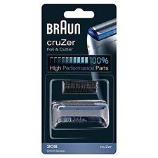 Braun Replacement Head Cruzer FOIL & Cutter 20s