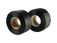 2 Rollen Umreifungsband PP 12mm 280 mm Kern Bandlänge 4.800 Meter, neu STRAPEX