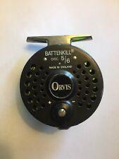 Orvis Battenkill Disc 5/6 Fly Reel. Made in England.