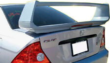 Fits 2001 - 2005 Honda Civic Custom Style Spoiler Wing Primer Un-painted NEW