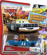 Disney Pixar Cars Radiator Springs Classic Mario Andretti   Y8460 NEW