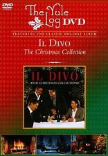 NEW The Yule Log: Il Divo- The Christmas Collection (DVD)