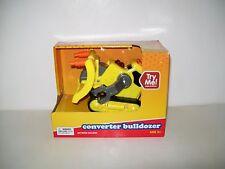 Play Right Bulldozer Robot Converter Toy Yellow Construction New
