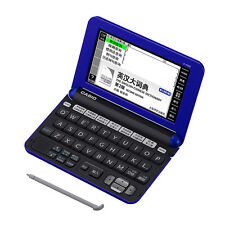 NEW Casio E-Y200 English Chinese Electronic Dictionary Translator Blue
